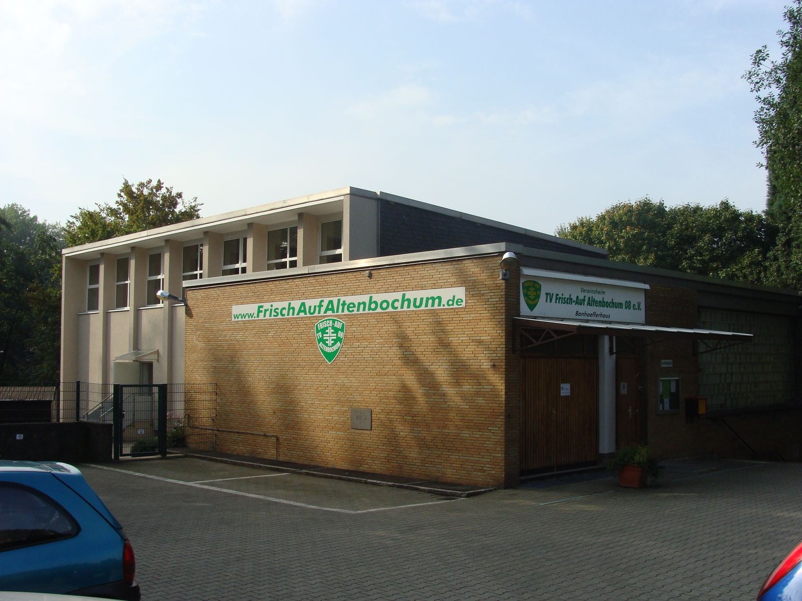 Vereinsheim: Bonhoefferhaus